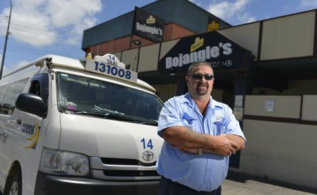 Blue and White taxi driver Jim Redman and other drivers will no longer be driving through fast food outlets in the region on weekend nights.