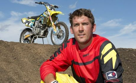 BIRTHDAY BOY: Toowoomba supercross rider Matt Haworth turns 24 today.