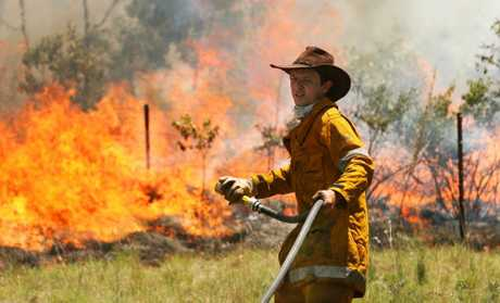 Local firefighters have attended many fires in the region this fire season, and a number of those have been in Mt Morgan where crews are attending another this afternoon.