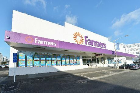 The Farmers building in central Whangarei, for sale by tender. Photo / Supplied