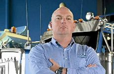BOSS: Mega Truckers Australia's Jon Kelly, of Heavy Haulage Australia, Sumner Park, Brisbane. Photo: Contributed