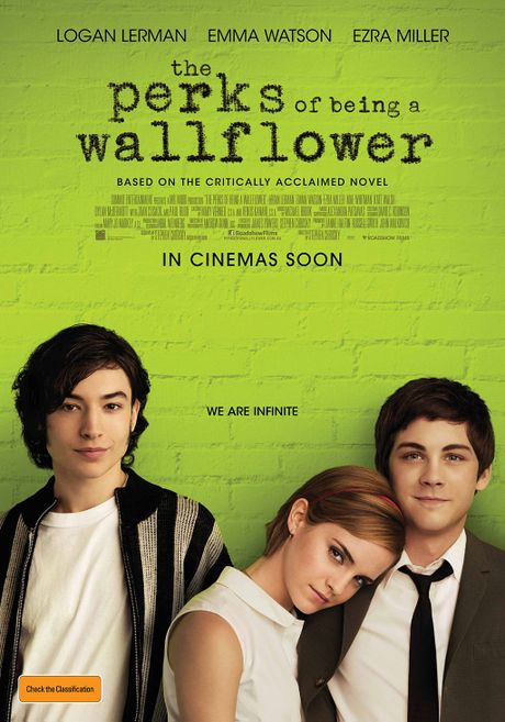 Poster for the movie The Perks of Being a Wallflower.