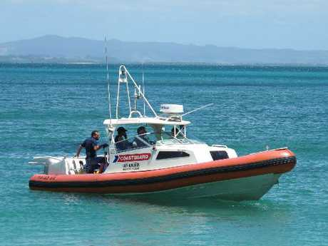 A group of fishermen sparked a call out from the Coastguard yesterday when their boat broke down.