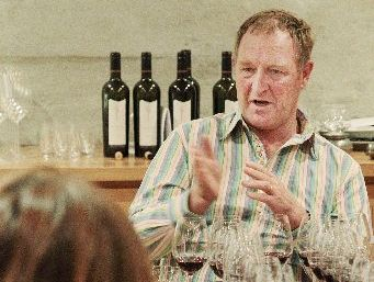 Craggy Range's wine and viticulture director Steve Smith talks guests through the nuances of each vintage they taste.