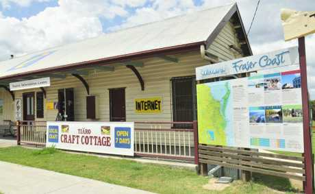 Tiaro was on the only visitor information centre to show an increase in numbers.