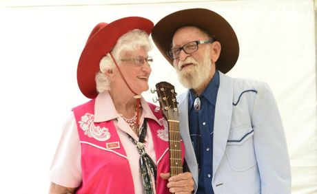 Zeta Burns and Ian Hands - launched their new CD at the Fairdinkum Country Music Festival Photo Adam Hourigan / The Daily Examiner
