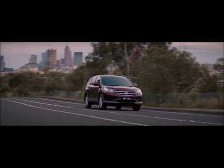 Honda&#39;s advertising campaign for its vital new CR-V starts today. 