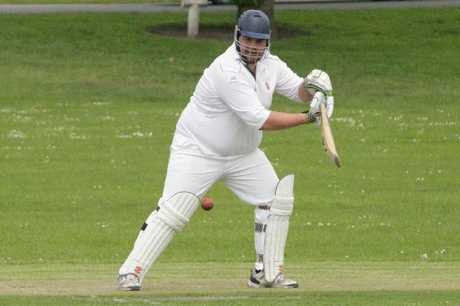 BATSMAN: Thomas Shields in action for Union. PHOTO/SCOTT CAMERON