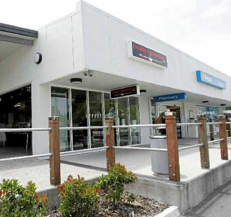 TARGETED: Thieves broke into Freddy Fuddpukker's and the Amcal Pharmacy at Coolum Village shopping centre.
