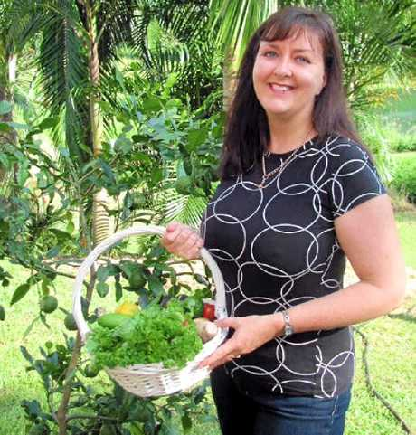 SHARING KNOWLEDGE: Micro-garden expert Anne Gigbson returns to the Peregian's Veggie Village on November 17.