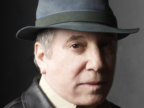 Legendary US singer and song writer Paul Simon.