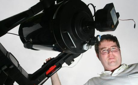 2009 is the International Year of Astronomy, Brendan Downs has seven telescopes.