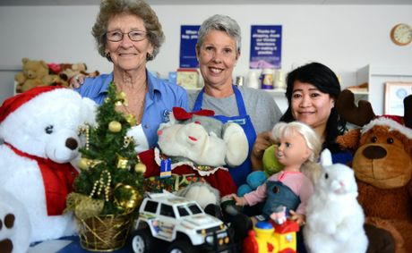 "Dawn Holland, Jennie Leathley and Diane Schneider are urging more residents to ""adopt"" families in Tweed and ensure a happy Christmas for all."