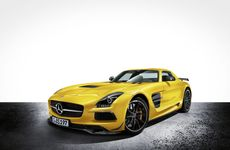 Thew new 'Gullwing' Mercedes-Benz SLS AMG Black Series is forecast to arrive here in June.