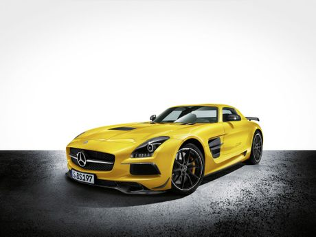 Thew new &#39;Gullwing&#39; Mercedes-Benz SLS AMG Black Series is forecast to arrive here in June.