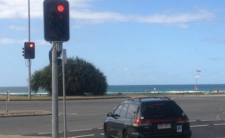 One of the Gold Coast intersections which could benefit from the new rule. Photo Albert Elzinga / Daily News