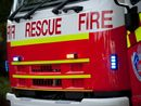 A FIRE underneath a Lismore home that reignited after being extinguished in the early hours of this morning is being treated as suspicious.