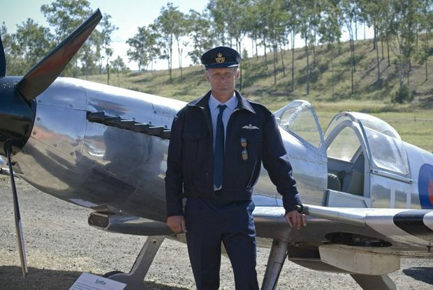 Terry Kronk helped found the Emu Gully Air and Land Spectacular.