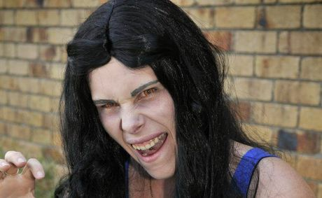 Twilight fan Stacie Wolff. Photo Dave Noonan / The Chronicle
