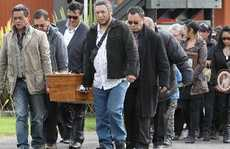 The body of Te Arawa kaumatua Rawiri Te Whare was brought to Tangatarua Marae on the way to his funeral at Ohaaki Marae near Reporoa.