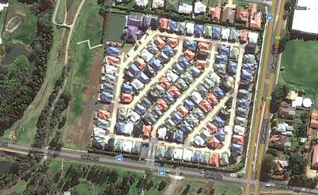 A 40-metre stretch of land on the western boundary of Kingfisher Gardens Lifestyle Village has been the focus of a seven-year battle between owner Clive Armitage and Toowoomba Regional Council.