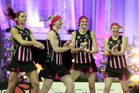 "The Gangnam Style dance performed by the Silver Ferns was ""ridiculous"" says Anendra Singh. Photo / Supplied."