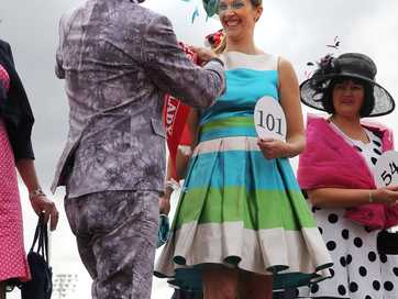 Photographer Geoff Sloan captured the glamour and revelry at this year's Cup Day at Addington Raceway
