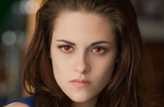 Kristen Stewart in a scene from the movie The Twilight Saga: Breaking Dawn - Part 2.
