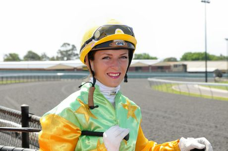 Jockey Skye Bogenhuber at Clifford Park. 