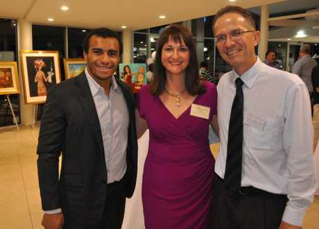 Will Genia, Tiffany Jones and Craig McPherson .