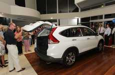 Caloundra City Autos launched the new CR-V on Tuesday night.