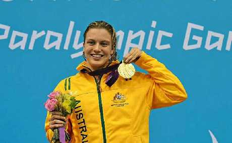 NATION'S BEST: Australian gold medallist Jacqueline Freney has been named Australian Paralympian of the Year.