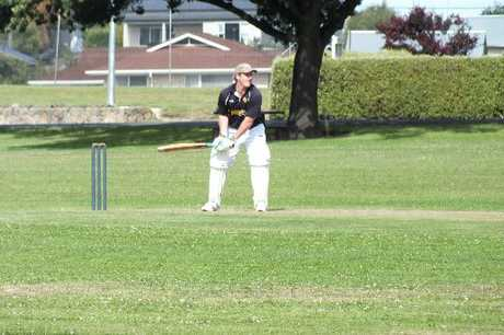 PEAK FORM: Winning the club cricket final has been a highlight for Hamish McKenzie at Valley.PHOTO/SUPPLIED