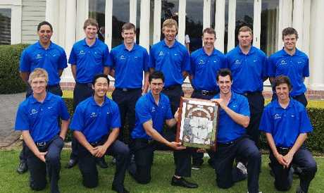 GOLFING TALENT: Bay of Plenty's champion Garrard Shield and Ralph Cup teams.
