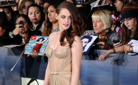 Kristen Stewart at the Twilight world premiere.