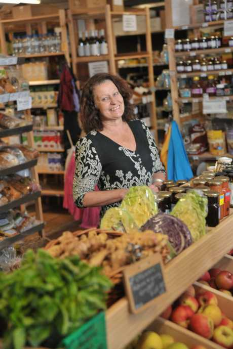 Karen Syrmis is the general manager of the Maple Street Co-Op in Maleny.
