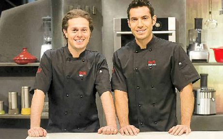 MKR finalists Nic and Rocco will share their cooking secrets at Gympie's Flavourfest tomorrow.