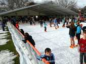 A portable ice-skating rink is coming to Tauranga for Christmas.