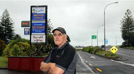 RATE RISE: Wairoa Vista Motor Lodge owner Peter Nash says his high commercial rates are making it difficult to compete with private accommodation providers not incurring the same levy from the Wairoa District Council.PHOTO/ DUNCAN BROWN HBT120322-02