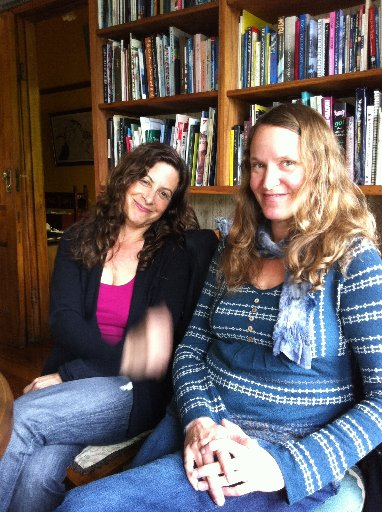 CREATIVE RETREAT: Bay Anapol (left) and Jeanne Dodds at New Pacific Studio (NPS).