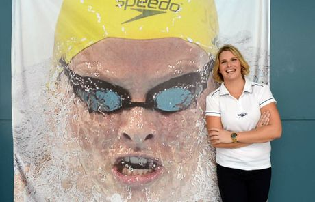 Leisel Jones, Australian swimming's first four-time Olympian, announced the end of a 13-year international career today. (AAP Image/Dan Peled)