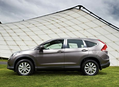 The Honda CR-V two-wheel drive.