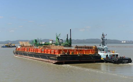 There's plenty of activity on Gladstone Harbour. Photos were taken during a Gladstone Ports Corporation Harbour Tour.