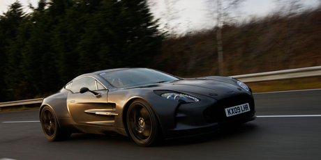 The Aston Martin marque is a familiar sight to the many James Bond fans
