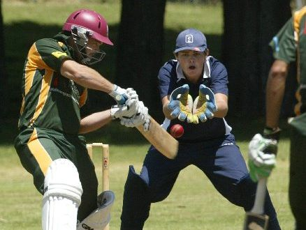 Daniel Flynn, batting for Mount Maunganui against Tauranga Boys' College, is confident of doing well in Sri Lanka. Photo / Chris Callinan