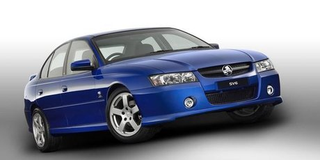 2004 VZ Holden Commodore SV6.