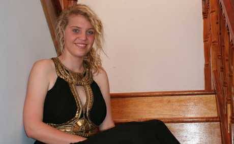 MIXED EMOTIONS: Moura High student Danica Becker is sad to be finishing school but looking forward to the celebrations.