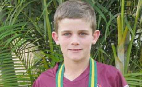 IN TOUCH: Aaron Moore was a part of the Under-12 Queensland team that took out the All Schools Championship.