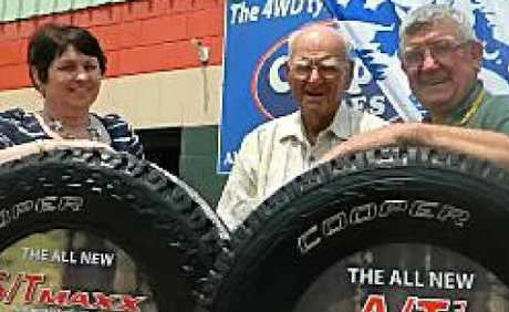 Tyres worth $800 were first prize.