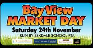 Eskdale School&#39;s major fundraiser is the Bay View Market Day! 